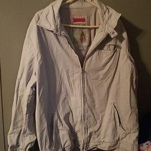 men's old navy surplus gear xl jacket khaki